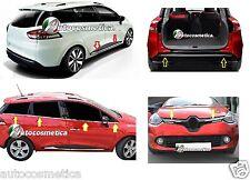 Portabagagli+porte+griglia+Raschiavetri acciaio cromo RENAULT CLIO IV Sporter
