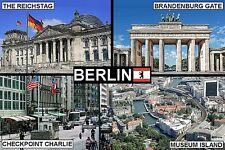 SOUVENIR FRIDGE MAGNET of BERLIN by day GERMANY
