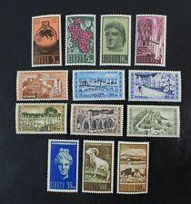 Ckstamps: Gb Stamps Collection Cyprus Scott#206-218 Mint Nh Og