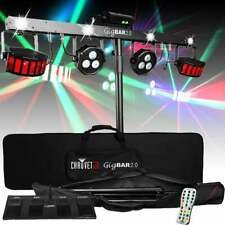 Chauvet DJ Gigbar 2 IRC LED Derby + Par + Laser + Strobe UV Effect Light Gig Bar
