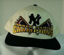 NEW YORK YANKEES Starter WORLD SERIES CHAMPIONS White Snapback Hat AUCT#3745