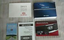 2011 Kia Optima Sedan Owner Owner's Manual User Guide Book English /France