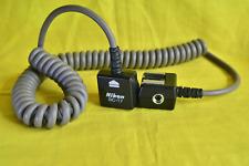 Nikon SC-17 Flash/Speedlight Sync cord.
