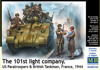 Master Box 35164 - US Paratroopers & British Tankman France 1944 1/35 scale