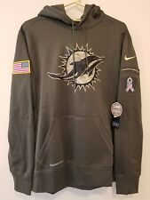 MIAMI DOLPHINS Nike 2015 Salute to Service Hoodie 2XL -- AWESOME !!!!
