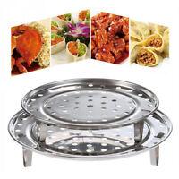 Dumpling Durable  Cookware Rack Three-leg Steamer Stainless Steel Tray Shelf