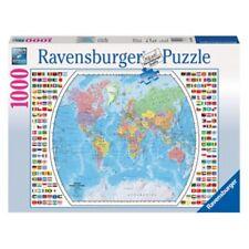Ravensburger Political World Map Puzzle 1000 pc