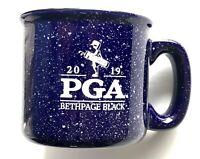 2019 Pga Championship coffee mug campfire bethpage black golf course new york