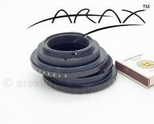 ARAX SHIFT ADAPTER for Arax/Kiev-60, P6 Pentacon P-Six Lens to NIKON camera
