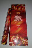 pack de 6 incienso  joya de la india /fewel of india sac  , 120 barillas