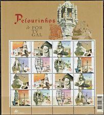 PORTUGAL-2001-Mini Sheet n.16-INQUISITION PILLORIES-2X8  stamps-2807/14 MUNDIFIL
