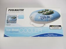 Poolmaster NEW Inflatable Ice Boat Drink Cooler Holder Pool Floating Party Beer