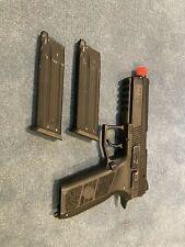 ASG CZ P-09 Licensed Airsoft GBB Gas Blowback Pistol (Color: Black)