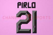 Pirlo #21 2011-2012 Juventus Awaykit Nameset Printing