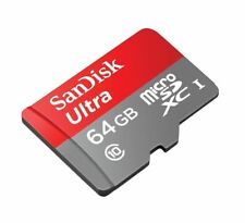 SanDisk Ultra 64 GB micro SD SDXC Memory Card UHS-I Class 10 up to 80Mb/s