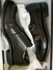 Brooks brothers Double  Monk  Straps Classic Dress Shoe Upper/ Sole leather