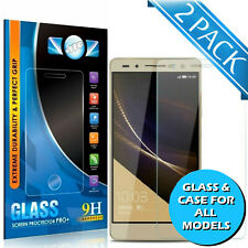 TEMPERED GLASS SCREEN PROTECTOR / CASE FOR HUAWEI P9 P10 LITE MATE 20 P20 PRO