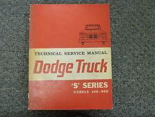 1963 1964 Dodge D100 D200 D300 D400 D500 D600 PD500 Truck Service Repair Manual