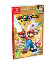 Juego Nintendo switch Mario Rabbids Battle Gold