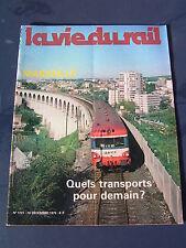 vie du rail 1979 1721 GARDANE SIMIANE BOUC CABRIES SEPTEMES ROGNAC VELAUX COUDOU