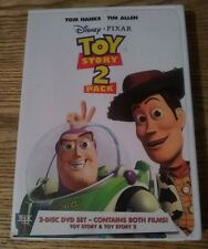 Disney/Pixar Toy Story & Toy Story 2 (DVD, 1995 & 1999 ) 2-Disc Set