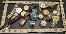 Lot Of Vintage Watches Gruen Curvex 10 kt Gold Filled Milber Gold Plated & More!