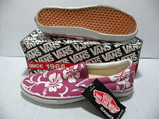 VANS CLASSIC VANDOREN SLIP-ON LX MEN SHOES HAWAII ALOHA 4783376 SIZE 11.5 NEW