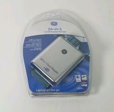 General Electric 24-In-1 Card Reader/Writer USB High Speed 2.0 98780 Windows Mac