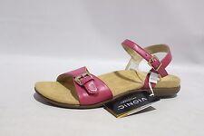 Vionic With Orthaheel Alita Women's Fuchsia Ankle Strap Sandals Sz 9 Wide