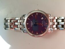 TISSOT LE LOCLE AUTOMATIC  SILVER DIAL BRACELET  DATA  SWISS MADE WATCH