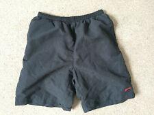 Slazenger Black (Swim?) Shorts With Inner Netting Age 13