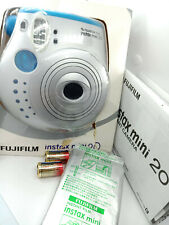 Fujifilm Instax MINI 20 Instant Camera Silver - with 10 shots Film Pack - Boxed
