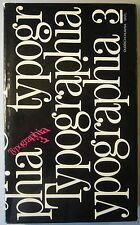 OLDRICH HLAVSA: TYPOGRAPHIA 3, 1986. Seltenes Buch Typographie / Schrift / Satz