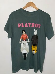 PLAYBOY LOGO MEN'S (COVER PHOTO) T-SHIRT URBAN OUTFITTERS