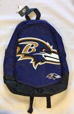 Baltimore Ravens BackPack Back Pack Book School Gym Bag NEW TEAM COLORS BIG LOGO