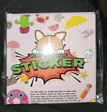 35Pcs Vsco Cute Waterproof Sticker Pack for Car Skateboard Laptop Luggage Bottle