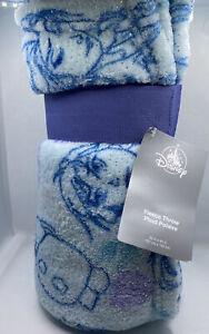 """Disney Store Frozen Fleece Throw Travel Blanket 60"""" x 50"""""""