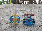 Kids Remote Control Race Car w/ Action Figure Lights Sounds