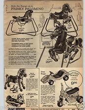 1971 PAPER AD 4 Pg Mini Trike Poweride Patrol Cycle Chucklebug Motorcycle