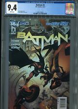 Batman #2  New 52 (1st print)  CGC 9.4  White Pages