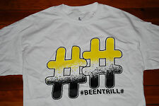 NEW Been Trill #BEENTRILL Double Hash Mallratz Graphic T-shirt (Large)