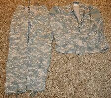 US Army ACU Combat Worn Pants Shirt Blouse Medium Regular OIF Iraq