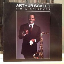 [JAZZ]~NM LP~ARTHUR SCALES~I'm A Believer~[Original 1989 A&M/IAM Issue]~