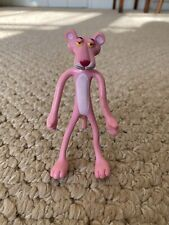 Vintage Pink Panther Plastic Bendy Toy 4�