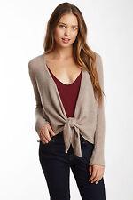 Philosophy Dane Lewis Woman Plus 100% Cashmere Beige Heather Cardigan Sweater 2X