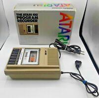 Vintage Atari 410 Cassette Program Recorder - In Original Box - Working