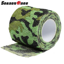 1x 4.5M Camouflage Military Tape Outdoor Tactical Wraps Stretch Medical Bandage