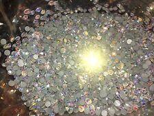 1440 5mm Ss20 Dmc Pegamento Transparente AB Joya Cristal Rhinestone del grano de cristal