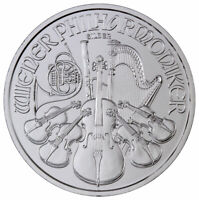 2020 Austria 1 oz Silver Philharmonic €1.50 Coin GEM BU Delay SKU60298