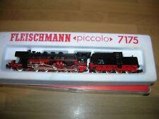 Fleischmann N Piccolo 7175 Class 50 2-10-0 Loco. DB 050567 Black near-Mint Boxed